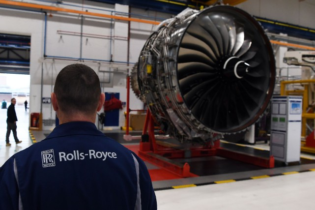 Le fabricant de réacteurs pour Airbus et Boeing... (AFP)