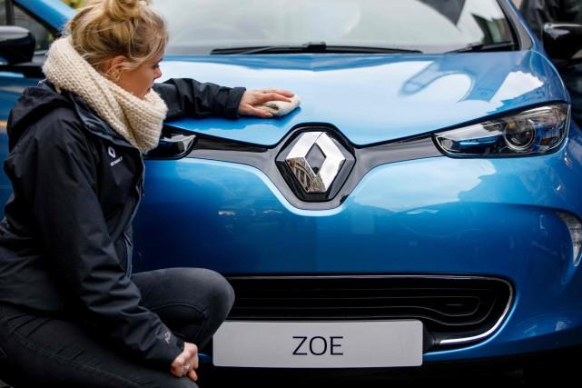 Renault a affiché l'an dernier une hausse de... (photo AFP)