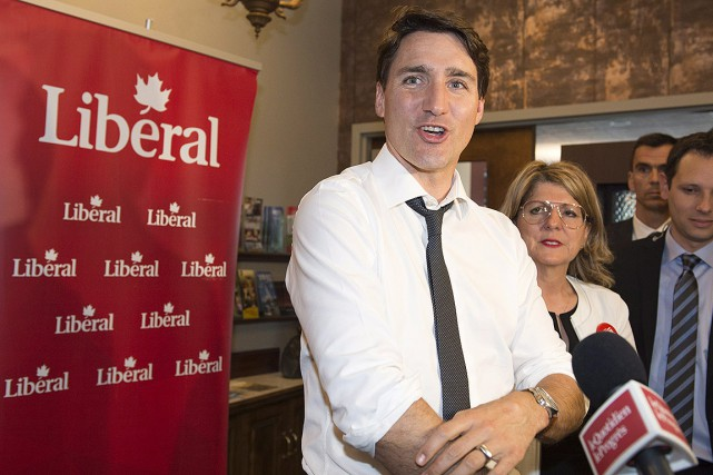 Le chef du Parti libéral (PLC), Justin Trudeau,... (Jacques Boissinot, archives PC)