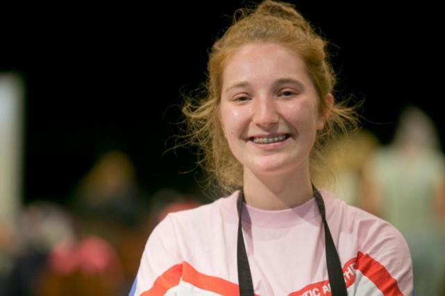 Anne-Charlotte Pellerin, 18ans, Victoriaville... (PHOTO FRANÇOIS ROY, LA PRESSE)