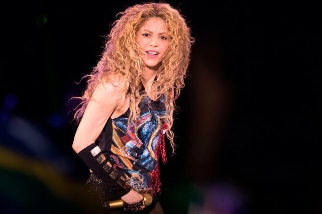 Les hanches ne mentent pas, comme elle le chante dans son succès Hips Don't... (Photo AFP)