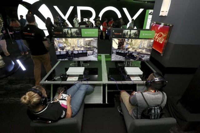 Microsoft, Sony et Nintendo, et leurs consoles vedettes... (Invision for Microsoft)