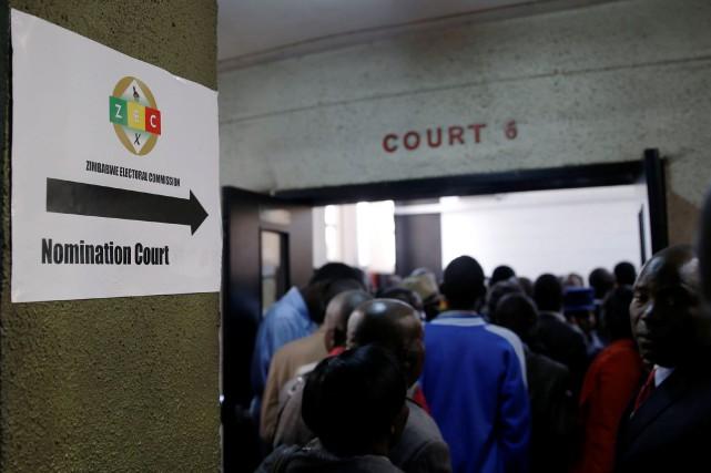 Pour être dûment enregistrés pour la course à... (Photo Philimon Bulawayo, Reuters)