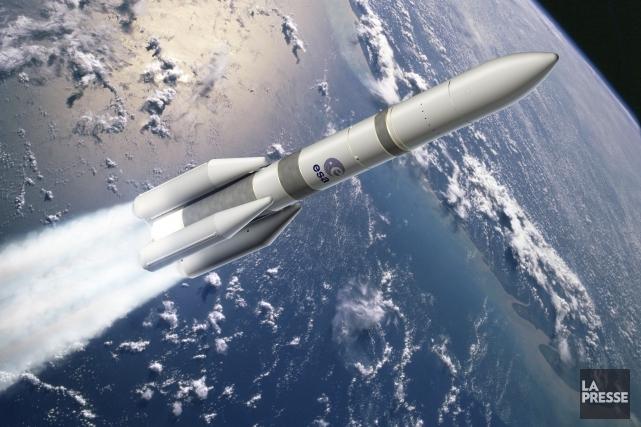 En décembre 2014, l'Europe spatiale a décidé de... (Image archives La Presse)