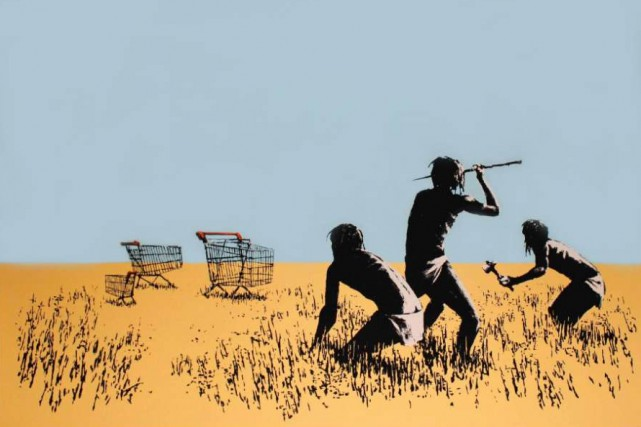 Trolley Hunters de Bansky... (Capture d'écran)