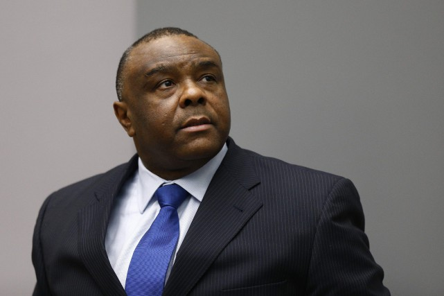 Quatre jours après le verdict d'acquittement, Jean-Pierre Bemba... (Photo Michael Kooren, archives Agence France-Presse)