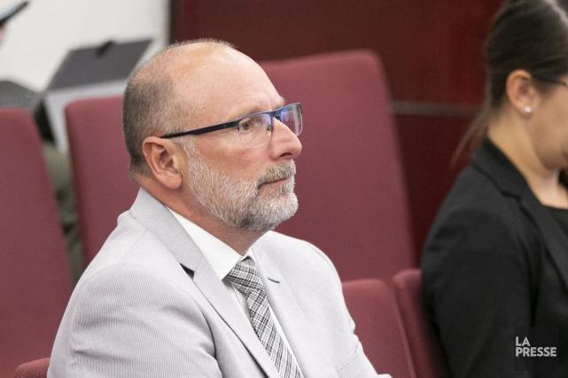 Le chef de l'opposition à l'hôtel de ville... (PHOTO DAVID BOILY, ARCHIVES LA PRESSE)