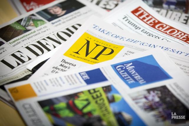 Les Canadiens sont préoccupés par les fausses nouvelles et font de plus en plus... (PHOTO OLIVIER JEAN, ARCHIVES LA PRESSE)