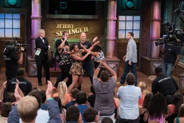 Dans les épisodes du Jerry Springer Show, la... (CAPTURE D'ÉCRAN)