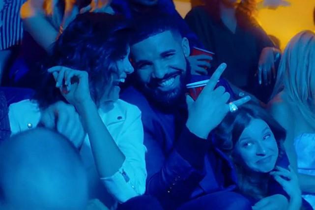 Drake dans le clip I'mUpset... (image fournie par Cash Money Records)