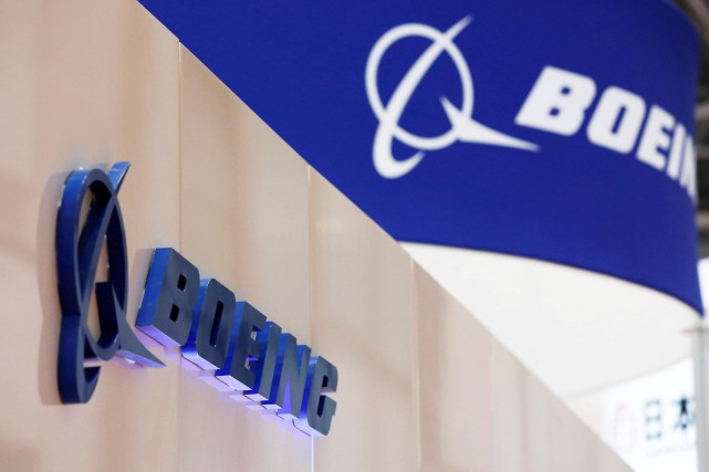 Logo de l'avionneur Boeing... (Photo Kim Kyung-Hoon, archives REUTERS)
