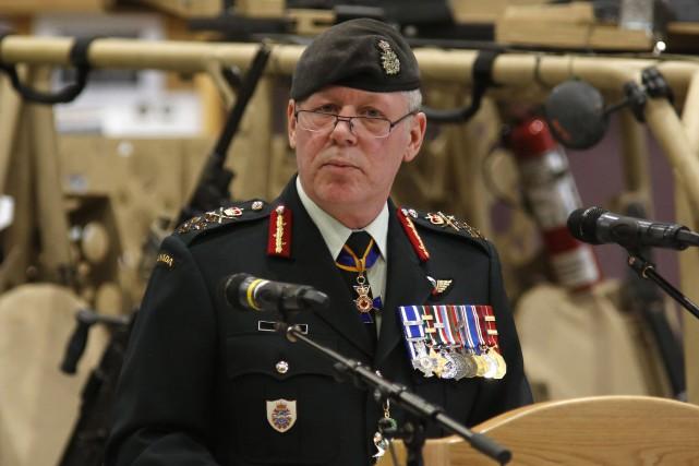 Le plus haut gradé des Forces armées canadiennes,... (PHOTO Patrick Doyle, ARCHIVES LA PRESSE CANADIENNE)