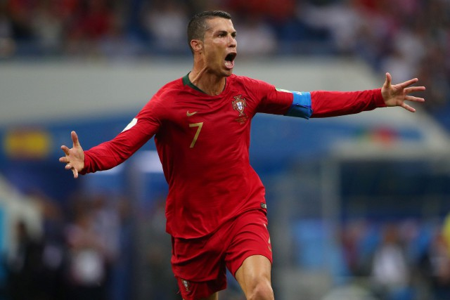Cristiano Ronaldo... (REUTERS)