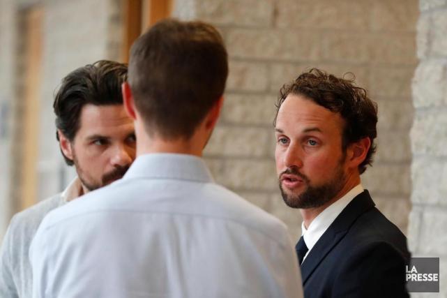 Patrick Ouellet (à droite).... (Photo Martin Chamberland, Archives La Presse)