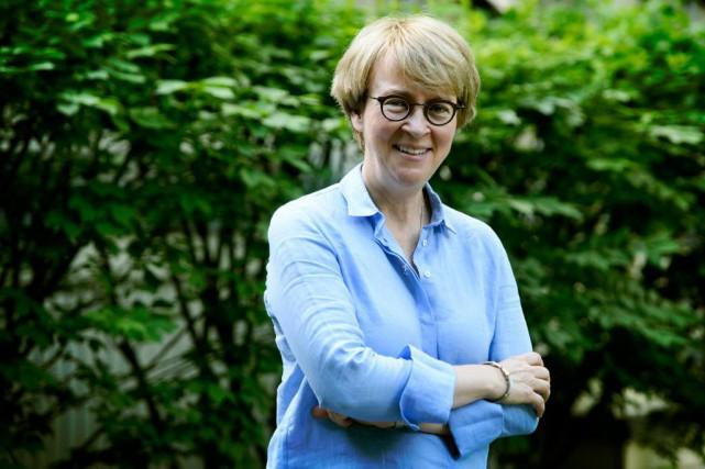 LineCormier est présidente de la Fondation Madeli-Aide pour... (PhotoBERNARDBRAULT, LA PRESSE)