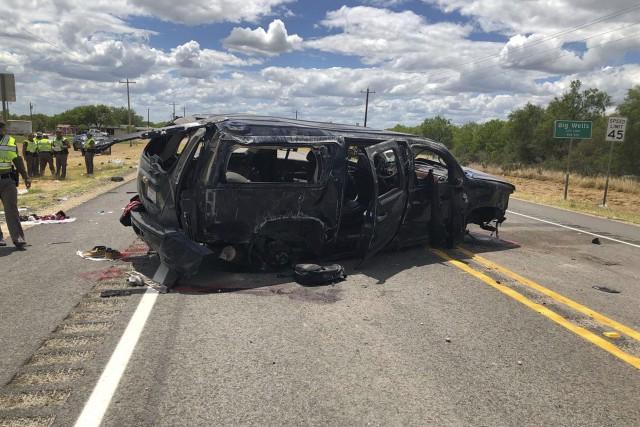 L'accident mortel est survenu alors que les États-Unis... (PHOTO AP)