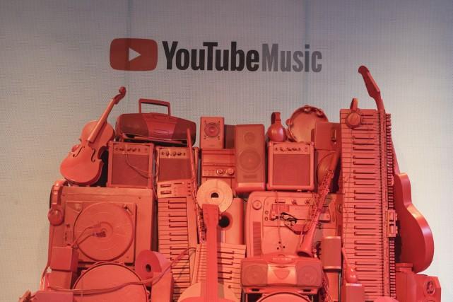 Google lance ce lundi en Europe une version payante de son service de streaming... (Photo Tijana Martin, archives La Presse canadienne)