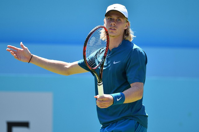 Denis Shapovalov... (PHOTO GLYN KIRK, AGENCE FRANCE-PRESSE)