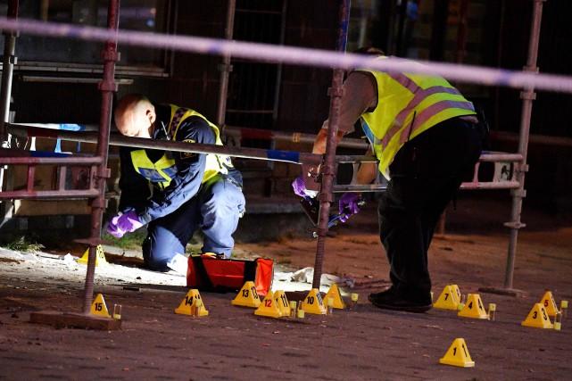 Suède: une fusillade fait un mort et quatre blessés