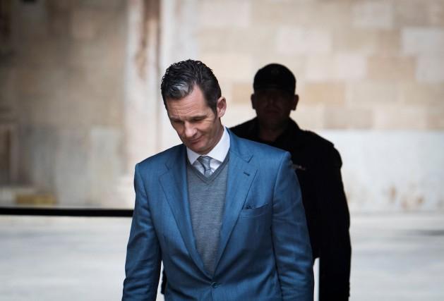 Interrogée après la condamnation d'Iñaki Urdangarin (photo), la... (ARCHIVES AFP)
