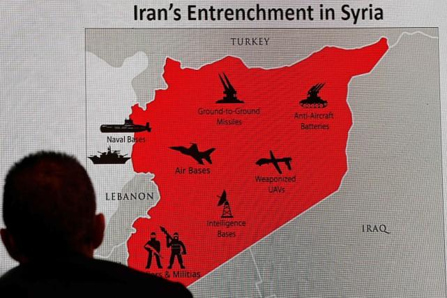 Israël, qui craint plus que tout une implantation... (PHOTO AFP)