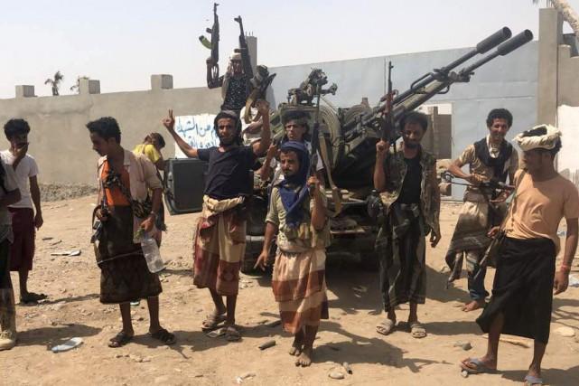 Dans la matinée, des combats intenses ont éclaté... (AFP)