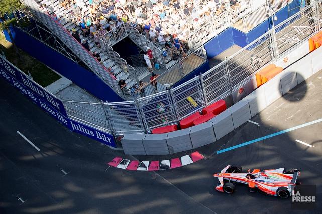 Le rapport de la vérificatrice générale sur la Formule E a donné lieu à un dur... (SARAH MONGEAU-BIRKETT, ARCHIVES LA PRESSE)