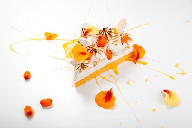 Une sucrerie glacée à l'argousier, un exemple des... (Photo fournie par La Tanière)