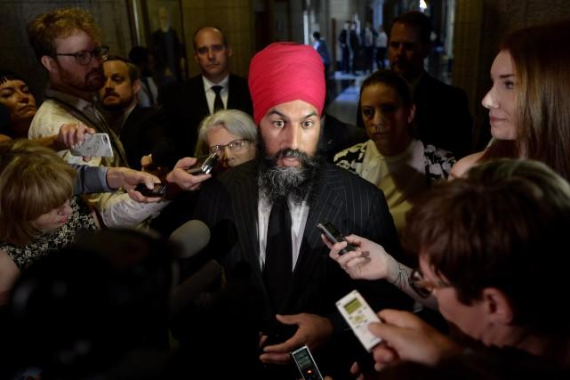 Jagmeet Singh... (Photo Justin Tang, La Presse canadienne)