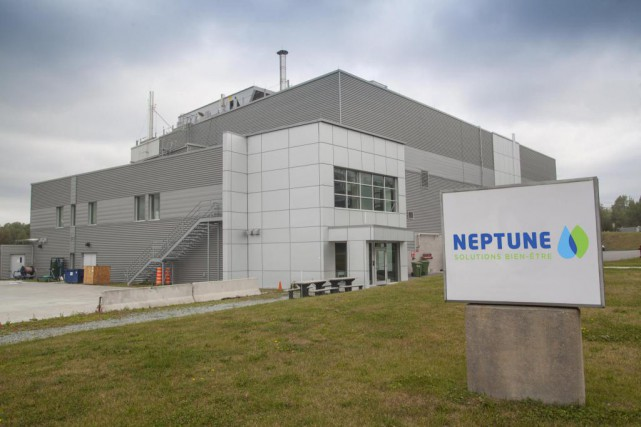 L'usine de Neptune Technologies & Bioressources, à Sherbrooke.... (Photo fournie par Neptune)