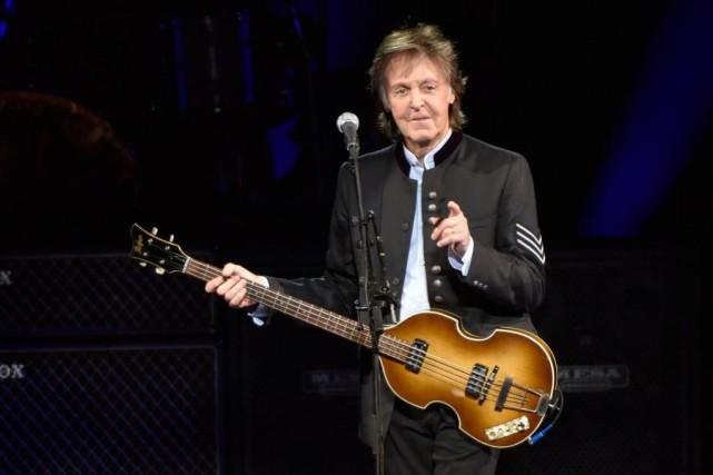 Paul McCartney sortira un nouvel album l'automne prochain.... (PhotoRob Grabowski, Associated Press)