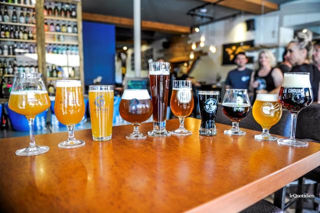La Route des bières compte maintenant 13 microbrasseries.... (Photo Gimmy Desbiens, Le Quotidien)