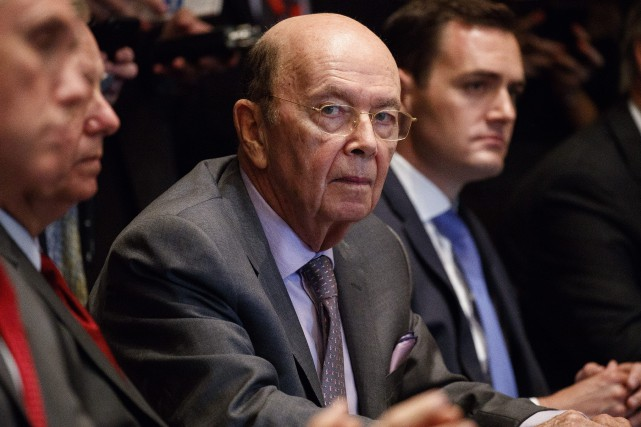 Wilbur Ross a aussi reconnu que les États-Unis... (Photo Evan Vucci, Associated Press)