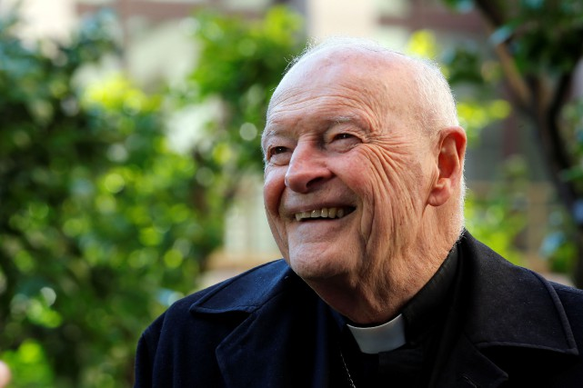 Theodore Edgar McCarrick, en 2013.... (Photo Alessandro Bianchi, archives REUTERS)