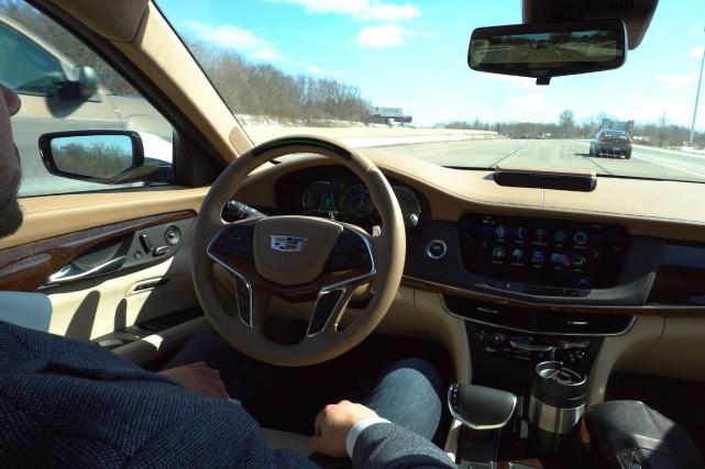 La Cadillac CT6 2018 a étrenné le Super... (Photo Cadillac)