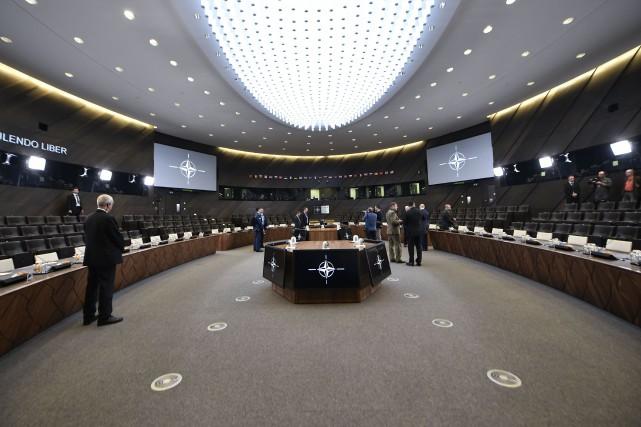 Lors du sommet de l'OTAN les 11 et... (AFP)