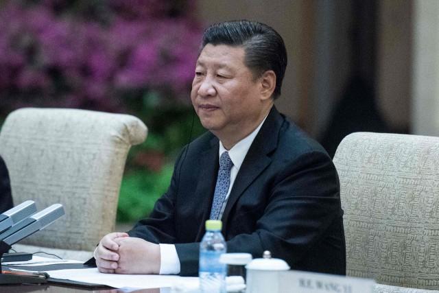 Le président chinois Xi Jinping... (AFP)