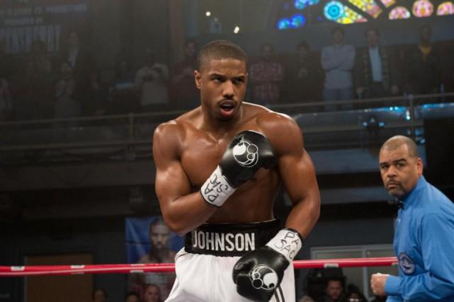 Michael B. Jordan incarne Adonis Johnson dans Creed.... (PHOTO BARRY WETCHER, ASSOCIATED PRESS)