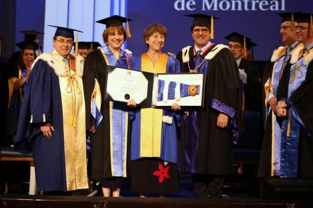 Le doctorat honorifique de Françoise David lui a... (PhotoBenjamin Seropian, fournie par l'Université de Montréal)
