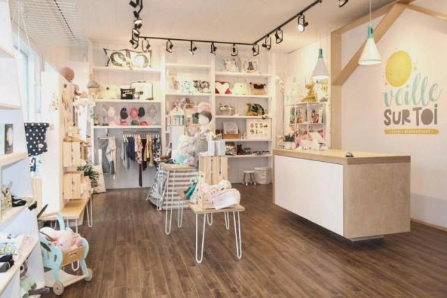 La boutique Veille sur toi est fin prête... (Photo Nancy Cartier, fournie par Veille sur toi)