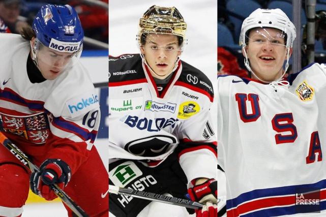 Quel joueur le Canadien sélectionnera-t-il avec le troisième... (Photomontage La Presse)