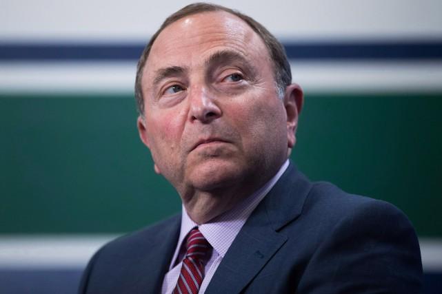Le commissaire de la Ligue nationale de hockey... (PHOTO ARCHIVES LA PRESSE CANADIENNE)