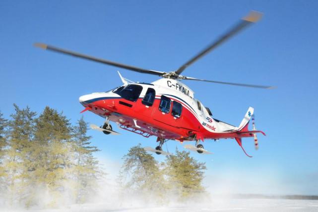 Québec a choisi de s'associer avec l'entreprise privée... (Photo fournie par AirMedic)