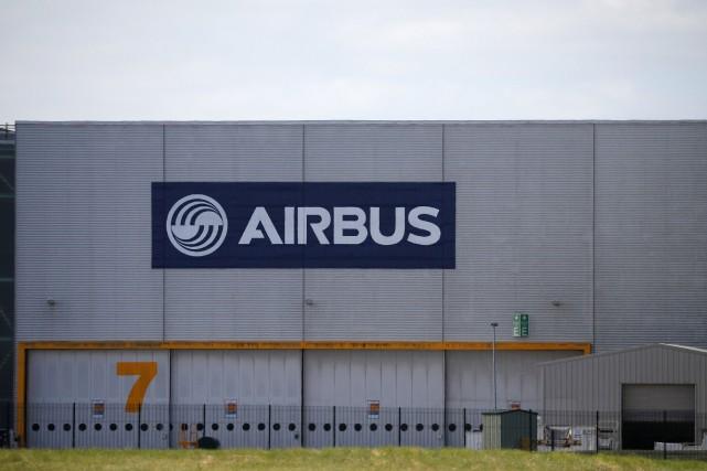 Un hangar de Airbus à Broughton, en Grande-Bretagne.... (PHOTO PHIL NOBLE, REUTERS)