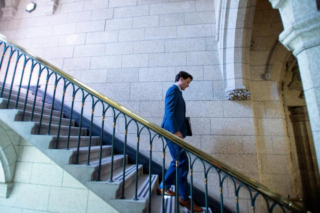 Justin Trudeau... (Photo Justin Tang, La Presse canadienne)