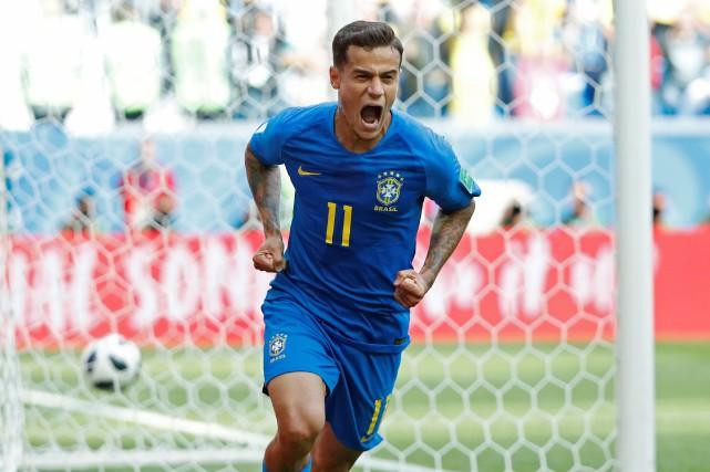 Philippe Coutinho a marqué le premier des deux... (Photo Max Rossi, Reuters)