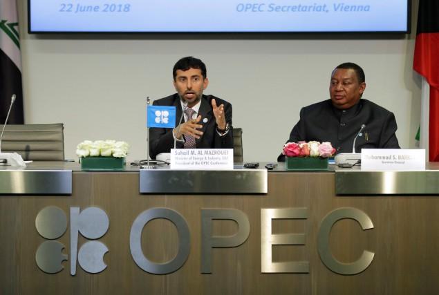 Le 22juin, l'OPEP a décidé à l'unanimité d'augmenter... (photo Heinz-Peter Bader, REUTERS)
