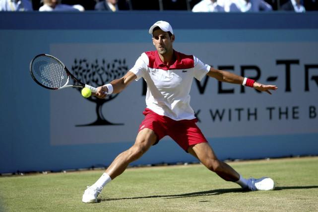 Novak Djokovic... (Photo Steven Paston, AP)