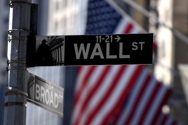 La Bourse de New York a terminé la semaine sur une note contrastée vendredi,... (PHOTO ARCHIVES AFP)
