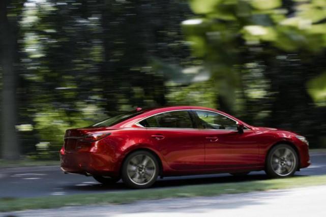 Aussi véloce soit-il, le moteur turbo ne transfigure... (Photo Mazda)